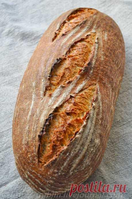 Заварной пшеничный хлеб на закваске - Записки кулинарного озорника — LiveJournal