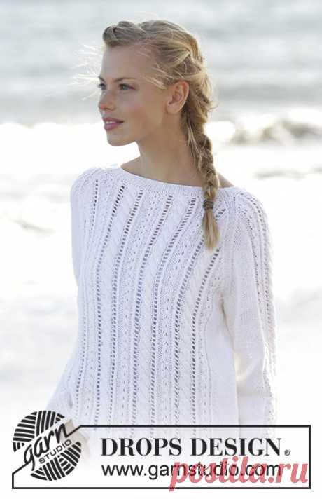 Пуловер Skipper - блог экспертов интернет-магазина пряжи 5motkov.ru