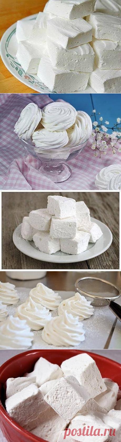 Домашний ванильный зефир - очень простой рецепт