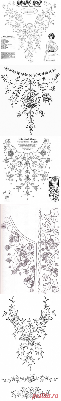 Вышивка. Шаблоны. | Журнал Вдохновение Рукодельницы