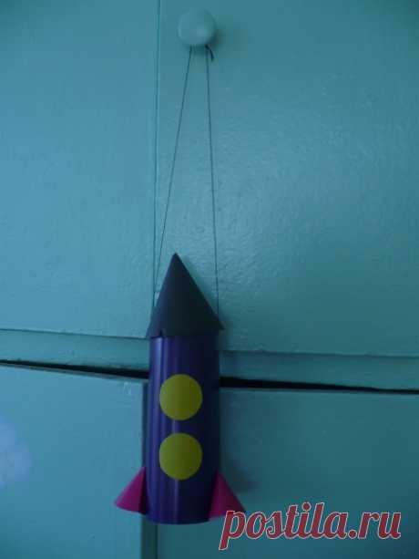 Ракета из бумаги ⋆ Страна Рукоделия - вязание и вышивка своими руками