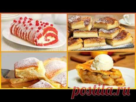 Успеть до полуночи! 4 праздничных десертных пирога, которые вы успеете приготовить от Всегда Вкусно!