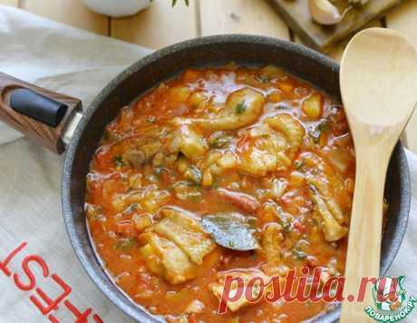 Куриный айнтопф на томатном соке – кулинарный рецепт