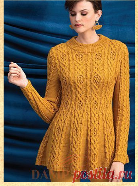 Желтый пуловер | DAMские PALьчики. ru