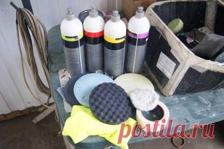 Полировка лакокрасочного покрытия автомобиля в собственном гараже | Мехвод | Яндекс Дзен