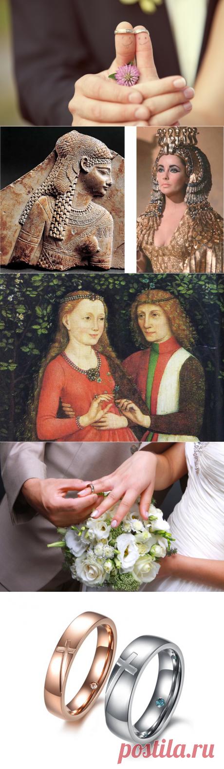 Что таит в себе свадебное кольцо?   Культура