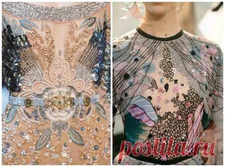 Вдохновение: вышивка высокой моды, от которой захватывает дух — BurdaStyle.ru