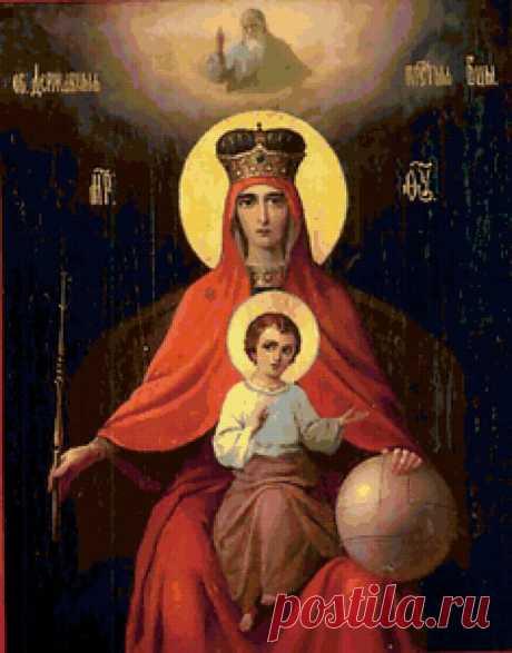 Заветные Сны Пресвятой Богородицы.