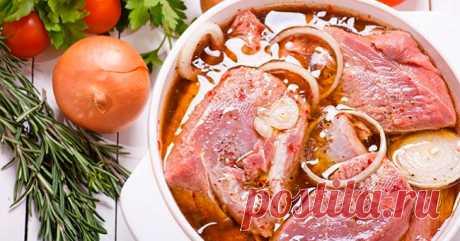 Любителям шашлыка: 5 лучших рецептов маринада. Мясо просто тает во рту! Сезон шашлыка уже совсем скоро!