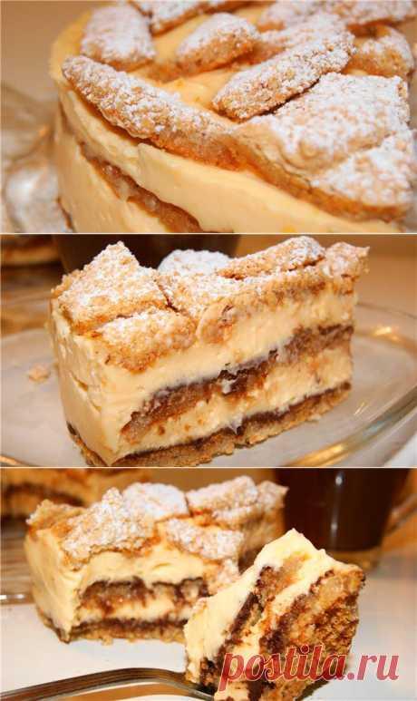Орехово-лимонный торт без муки. Автор: natapit