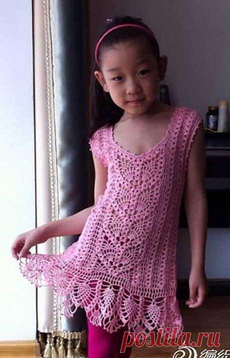 Милое платьице для очаровательной модницы