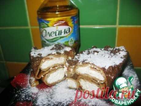 """Блинный торт """"По следам итальянки"""" - кулинарный рецепт"""