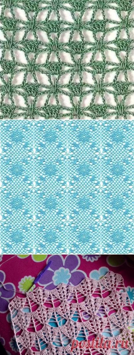 Knitting by a hook. Ideas. Schemes