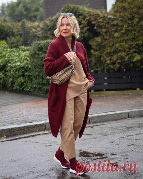 Городской стиль весны 2021 для женщин 40-50 лет: 15 модных образов | Идеи стильных людей ✮ | Яндекс Дзен