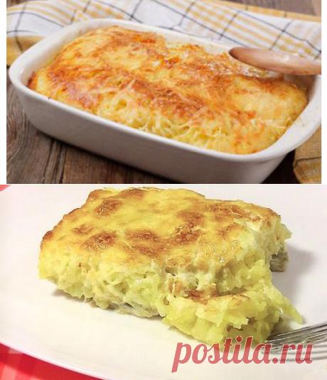 Нежная и вкусная запеканка «Мечта мужа» с картофелем, грибами и курицей