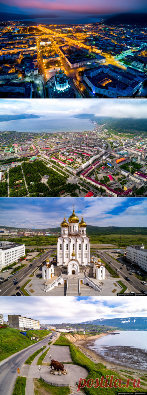 Магадан с высоты: суровый город у моря   ФОТО НОВОСТИ