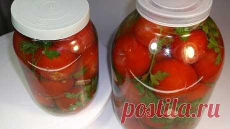Обалденные квашеные помидоры. Совсем как бочковые, но еще проще!  Самый вкусные помидоры на зиму получаются методом простого засаливания. Квашеные помидоры получаются обалденно вкусными и совсем как бочковые из деревни.      Важный секрет вкусного рассола на 30 сек…