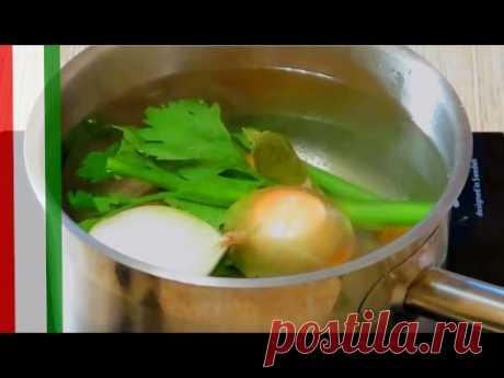 Насыщенный овощной бульон / Простые рецепты