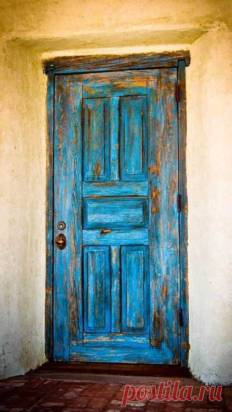 Jan 17, 2016 - Old Blue Door is a photograph by Dave Villa which was uploaded on October 22nd, 2015.  The photograph may be purchased as wall art, home decor, apparel, phone cases, greeting cards, and more.  All products are produced on-demand and shipped worldwide within 2 - 3 business days.