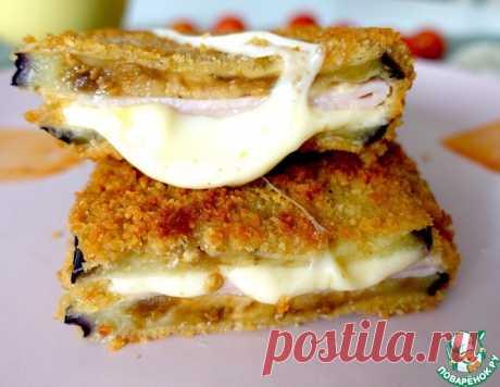 Баклажан с сыром и ветчиной – кулинарный рецепт
