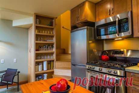 Домик площадью 45 квадратных метров, в котором есть всё для комфортной жизни | Мой дом