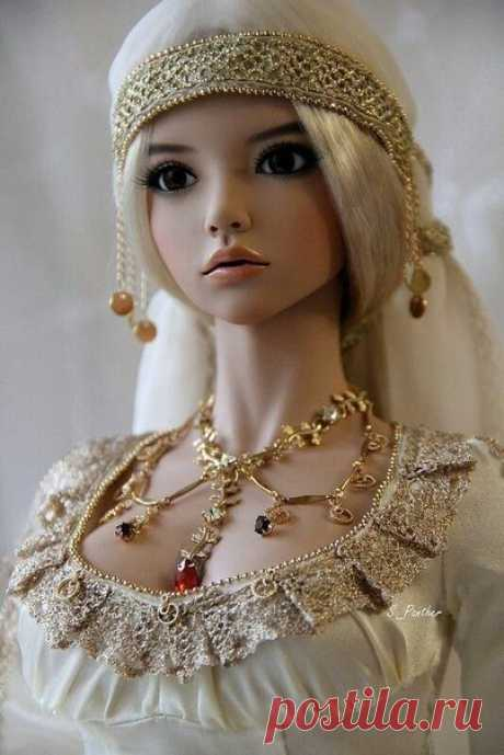 Кукла красивее любой барби!
