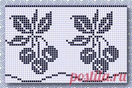 Схемы для филейного вязания крючком | Ольга knits спицами и крючком | Яндекс Дзен