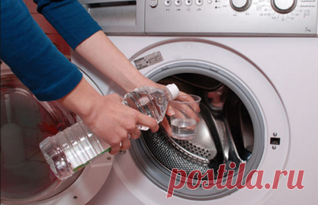 Просто долей уксус в стиральную машинку! Вот он — секрет, за который можно многое отдать… - Что хочет женщина