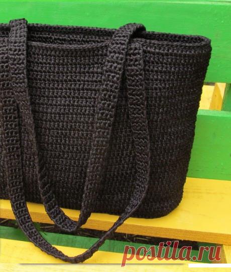 Как связать ручки для сумки крючком: варианты ручек для сумки пошагово со схемами