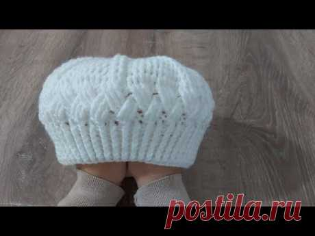Tığ İşi İnci Şapka (Bere) Yapımı Örgü Modelleri| Crochet Hat Making #64