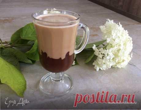 """Кофе """" Его Величество- Кофе!"""". Ингредиенты: шоколад черный горький 70%, молоко 3,2% , кофе свежесваренный"""