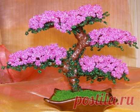 цветы и деревья из бисера | Записи в рубрике цветы и деревья из бисера | Вдохновлялочка Марриэтты