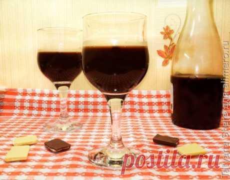 ¡El licor de chocolate, no probabais tal bebida sabrosa!! ¡No la receta y simplemente el hallazgo!!!