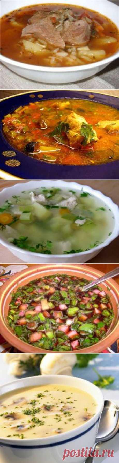 Первые блюда - Кулинарные рецепты / Домашний ресторан