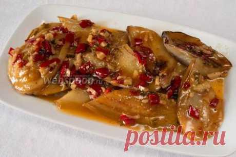 Баклажаны в карамели | Рецепт жаренных баклажанов с фото