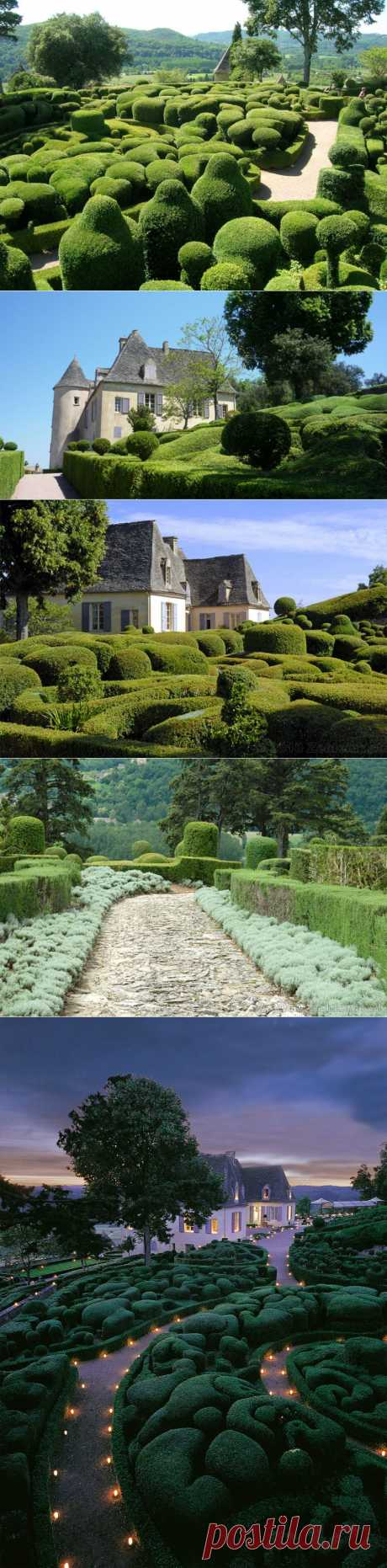 Зачарованные сады Marqueyssac, что в Перигоре, Франция | Наш уютный дом