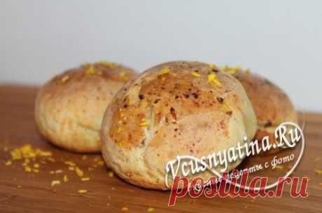 Творожные булочки - рецепт с фото