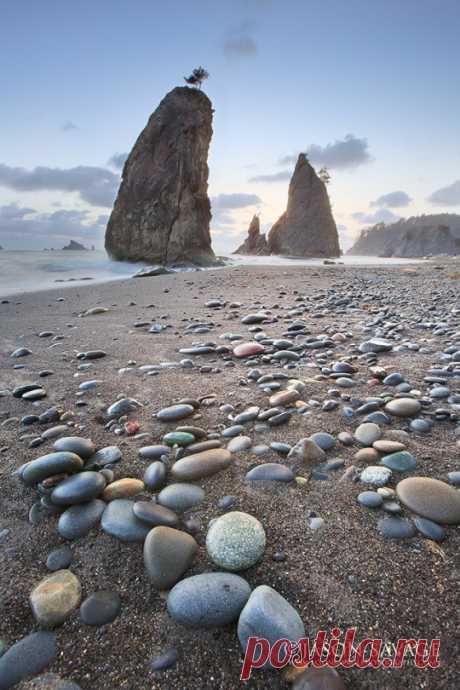 (2) О МОРЕ, МОРЕ. Национа́льный парк «Оли́мпик» — природоохранная зона, расположенная на северо-западе штата Вашингтон, на полуострове Олимпик
