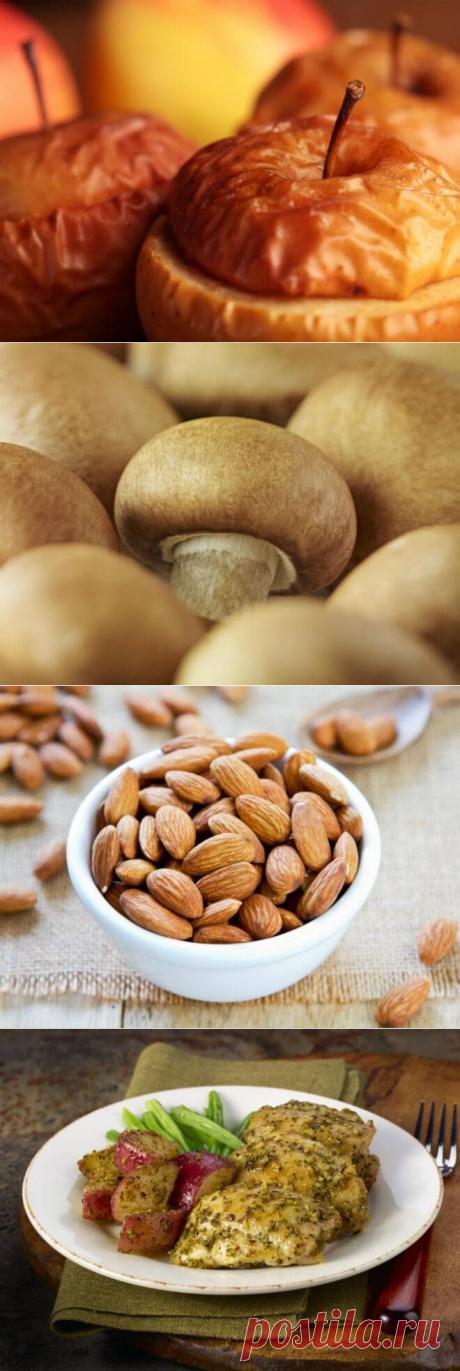 8 продуктов, которые можно есть на ночь без вреда для фигуры — Бабушкины секреты