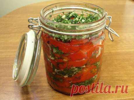 очень вкусные заготовки из болгарского перца