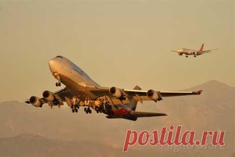 Фото AAR Boeing 747-400 (HL7417) - FlightAware
