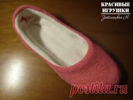El maestro la clase por la costura de las zapatillas