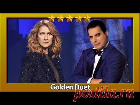 Фредди Меркьюри и Селин Дион SHOW MUST GO ON (Freddie Mercury & Celine Dion)