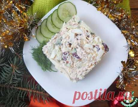 Салат с курицей и фасолью – кулинарный рецепт