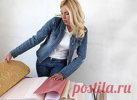 Как выбрать текстильные обои | УЮТНЫЙ ДОМ | советы