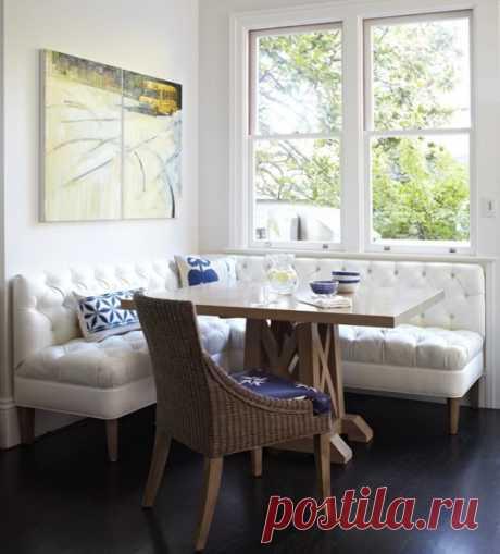 Идеи дизайна многофункциональных кухонных уголков для уюта и удобства | Мой дом
