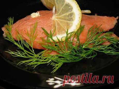 Как засолить горбушу к новогоднему столу! Простой рецепт бесподобной рыбы!.