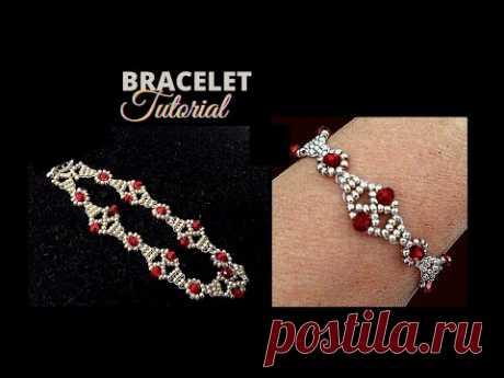 Beading pattern for DIY Jewelry . Beaded Bracelet (Beaded Necklace)