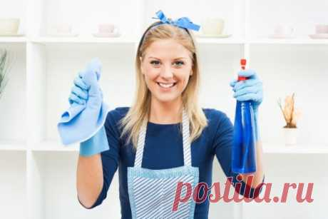 Как научиться мыть натяжной потолок »