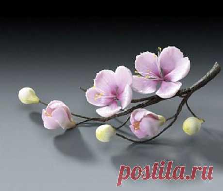 Цветы из холодного фарфора. Елена Бессмертная